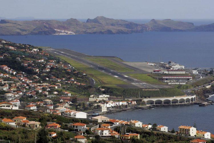 Mau tempo: Vento está a condicionar aterragens no aeroporto da Madeira