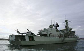 Marinha Portuguesa treina cenários de crise