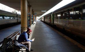 Greve dos trabalhadores da Infraestruturas de Portugal afeta ligações ferroviárias