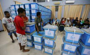 Quatro coligações vão concorrer às eleições antecipadas de 12 de maio
