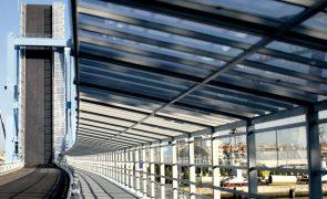 Reparação da ponte móvel de Matosinhos depende de condições meteorológicas