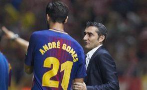 Treinador do FC Barcelona enaltece atitude