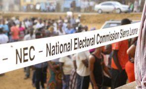 Segunda volta as eleições na Serra Leoa a 27 de março