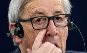 Juncker considera que Portugal é exemplo a seguir no acolhimento de refugiados
