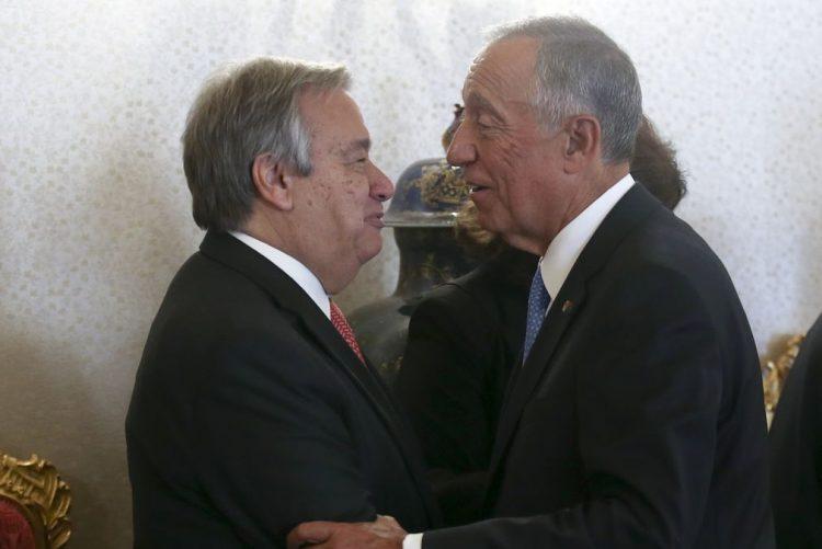 Guterres poderá ter papel importante no quadro da crise síria -- Marcelo