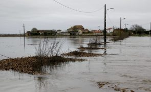 Prevista «pequena subida» da água na bacia do Tejo devido ao mau tempo