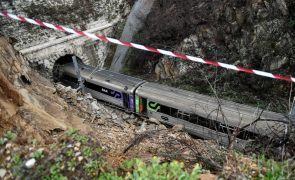 Circulação de comboios suspensa na Linha da Beira Alta devido ao mau tempo