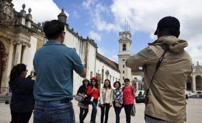 Turismo no Centro do país cresce acima da média nacional