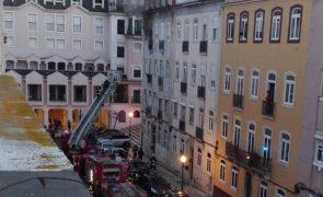 ÚLTIMA HORA: Incêndio em prédio de Lisboa [em atualização]