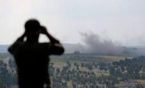 Pelo menos 18 mortos em bombardeamentos turcos na cidade síria de Afrine