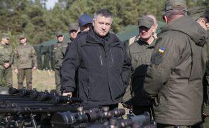 Ucrânia proíbe votação no seu território para presidenciais russas