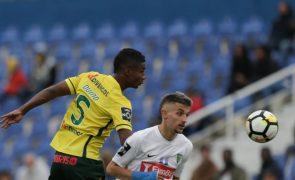 Estoril Praia e Paços de Ferreira empatam a um golo