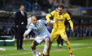 Juventus cede nulo em casa do Spal e Nápoles pode ficar a dois pontos do líder