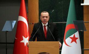 Erdogan saúda controlo