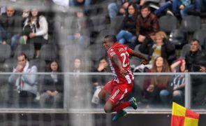 Vitória de Guimarães vence Desportivo das Aves e sobe ao nono lugar da I Liga