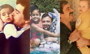 Famosos no Dia do Pai: «Tal pai tal filho»