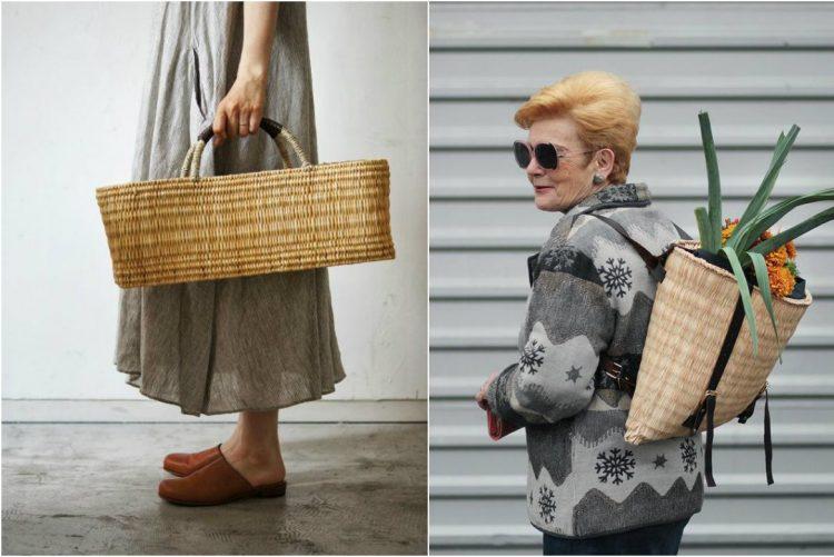 A nova tendência é a cesta de verga