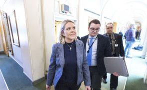 Ministra da Justiça da Noruega demite-se