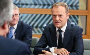 Presidente do Conselho Europeu recusa felicitar Putin pela reeleição