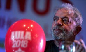 Supremo do Brasil decide quinta-feira recurso de Lula para impedir a sua prisão