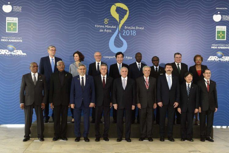 Dia Mundial  da Água assinalado em Brasília com chefes de Estado e milhares de especialistas