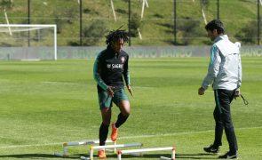 Mundial2018: Gelson Martins já treinou integrado com restantes convocados