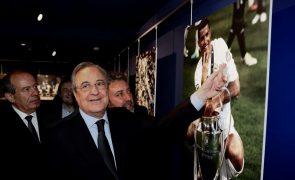 Exposição fotográfica sobre Cristiano Ronaldo inaugurada hoje em Madrid