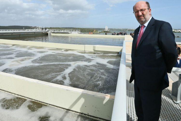 ETAR's do Algarve estão ao nível das maiores exigências ambientais, diz ministro