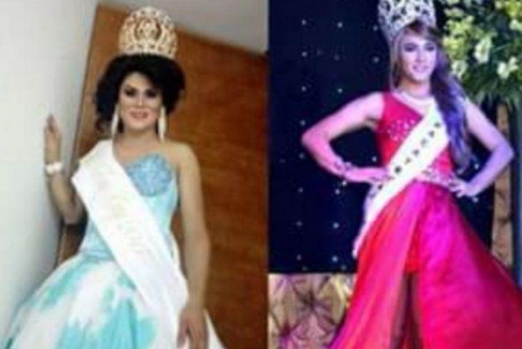 Finalista de concurso de beleza transexual empurrou a vencedora do palco