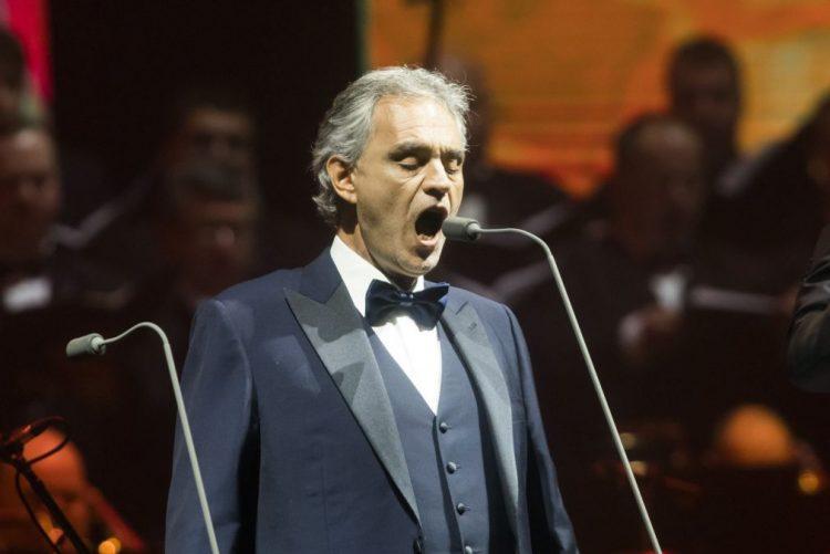 Tenor Andrea Bocelli em Fátima a 13 de maio