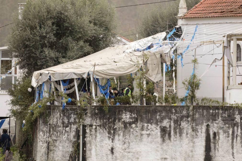 Cinco feridos das explosões de Penacova foram operados