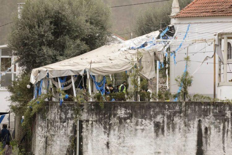 Cinco pessoas feridas após explosão em Penacova mantêm-se internadas em Coimbra