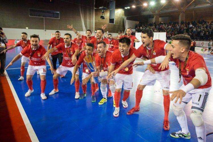 Benfica defronta Burinhosa nos quartos de final da Taça de Portugal de futsal