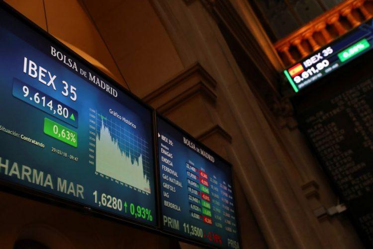Bolsas europeias em baixa com medo de guerra comercial entre Washington e Pequim