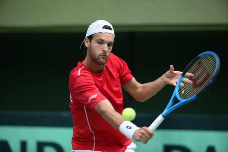 João Sousa iguala a dois embate com a Suécia da Taça Davis em ténis