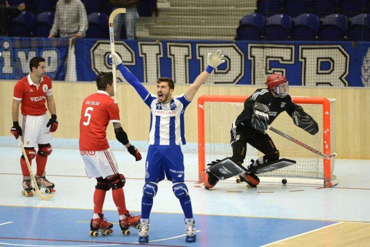 FC Porto na 'final four' da Liga Europeia de hóquei em patins, ao golear Benfica