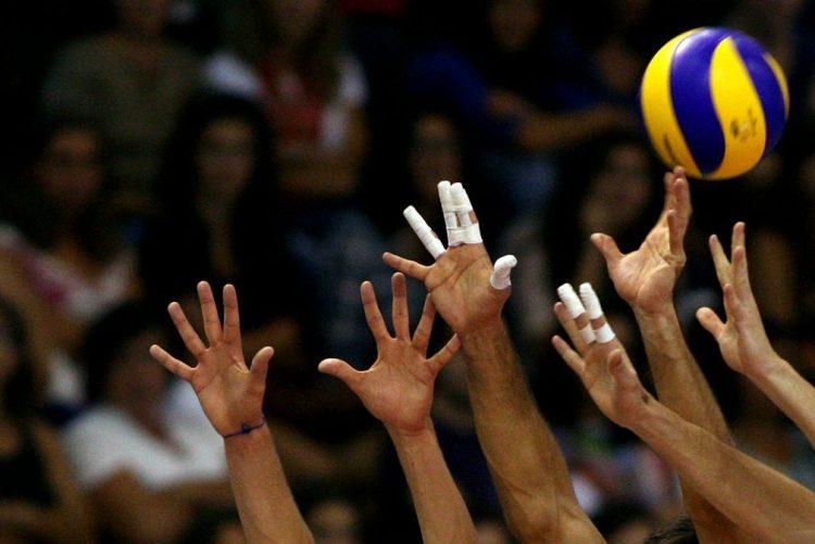 Castêlo da Maia na final da Taça de Portugal de voleibol, ao bater Leixões