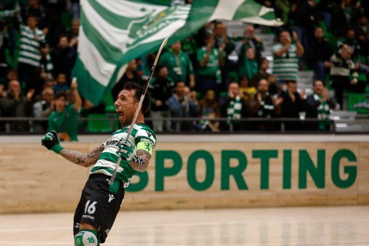 Sporting na 'final four' da Liga Europeia de hóquei patins, o bater Oliveirense