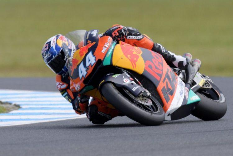 Miguel Oliveira com o sétimo tempo da qualificação para o GP Argentina de Moto2