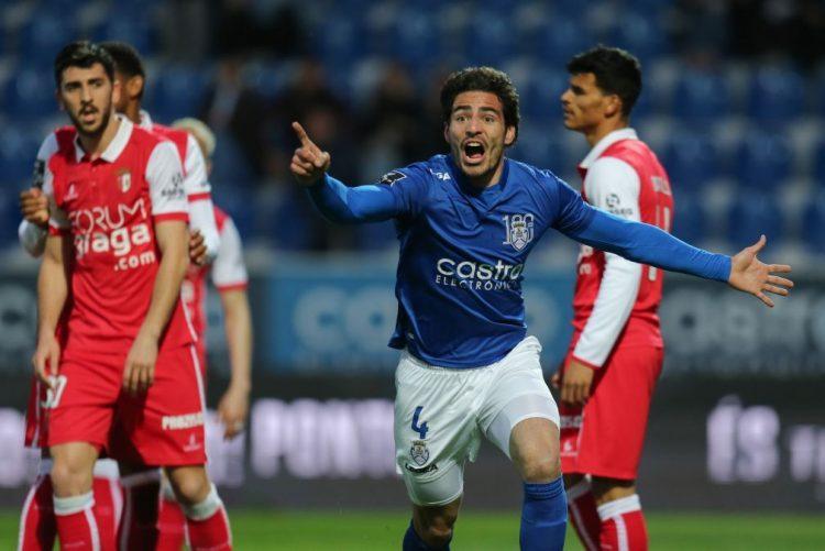 Feirense 'empata' Sporting de Braga com golo nos descontos