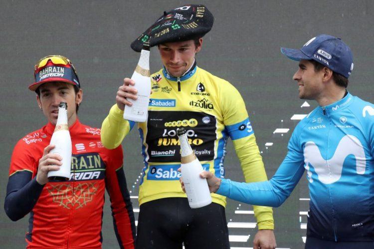 Primoz Roglic vence Volta ao País Basco, Enric Mas triunfa na última etapa