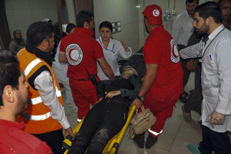 Pelo menos 40 pessoas morreram em ataque químico em Douma