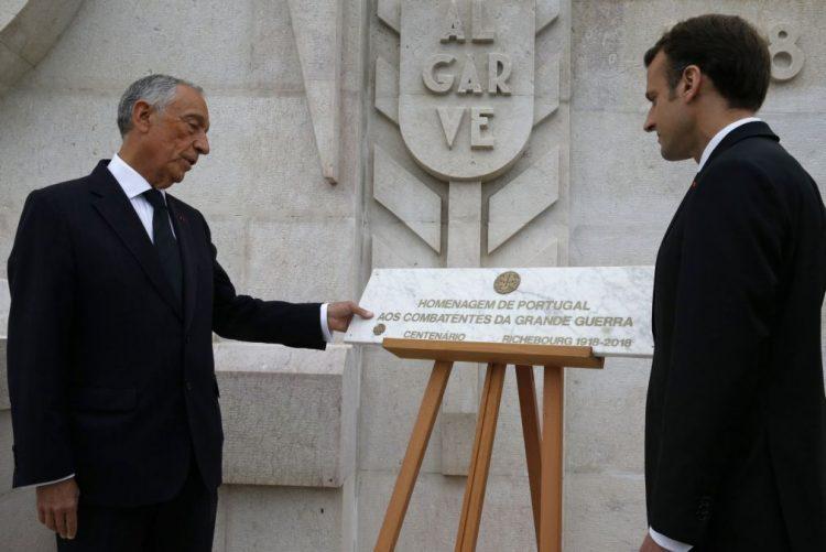 Homenagem aos portugueses mortos na Grande Guerra é uma reparação histórica