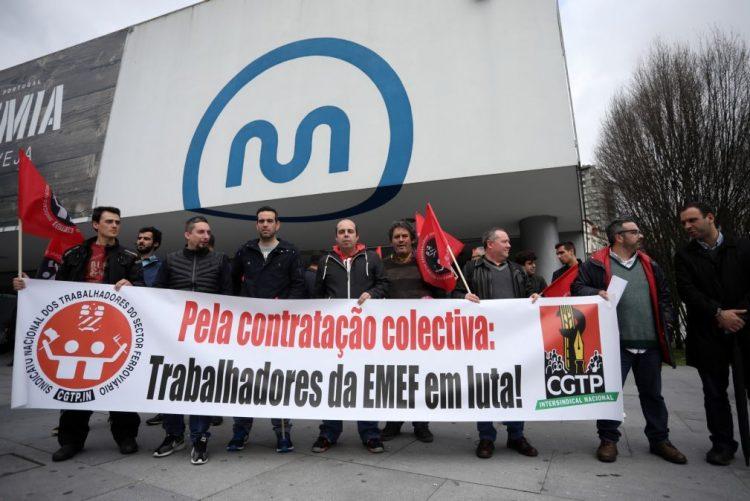 Trabalhadores da EMEF reivindicam aumentos salariais e melhores condições de trabalho