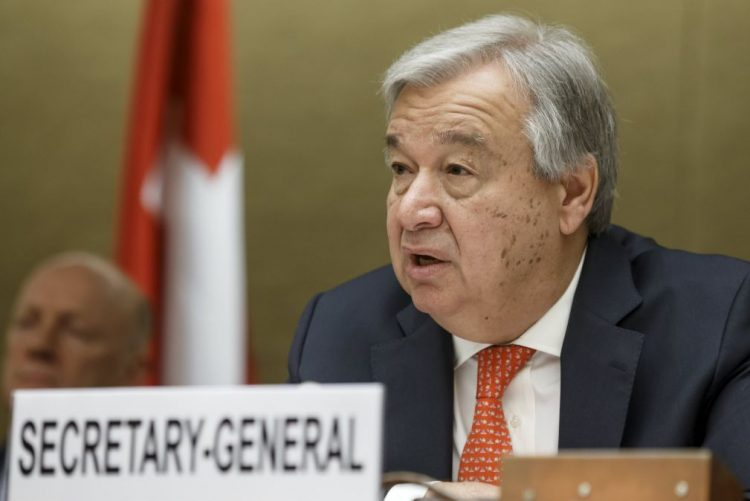 Guterres indignado com alegado ataque químico na Síria e pede investigação imparcial
