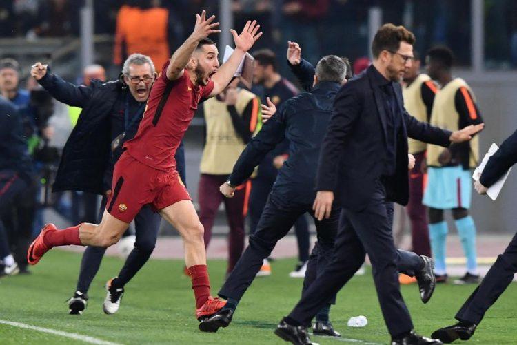 Roma elimina FC Barcelona nos quatos de final da Liga dos Campeões