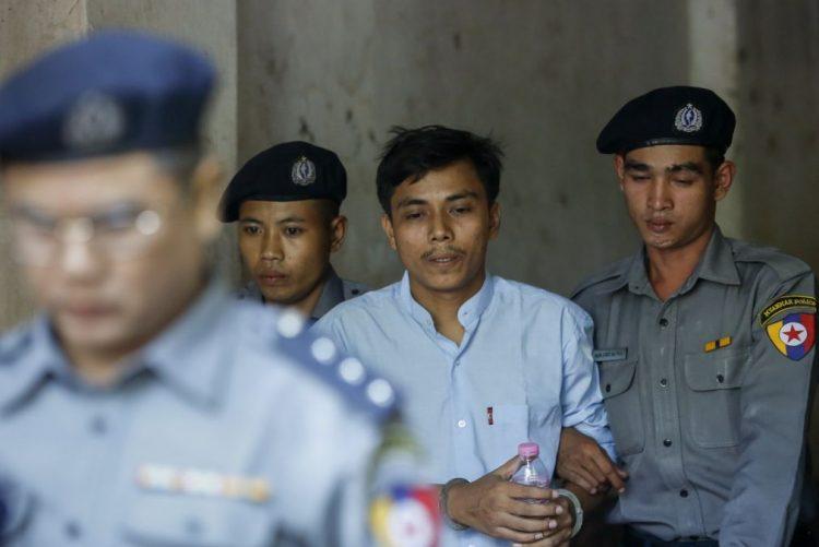 Justiça birmanesa mantém julgamento de dois jornalistas da agência Reuters