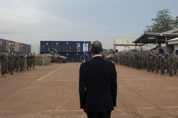 Presidente da República informado de que os militares portugueses na RCA estão bem