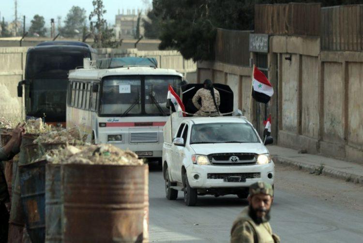 Rússia anuncia que as tropas sírias controlam a cidade de Douma, na Síria