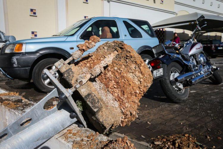 Vento extremo em Albufeira foi um «pequeno tornado»